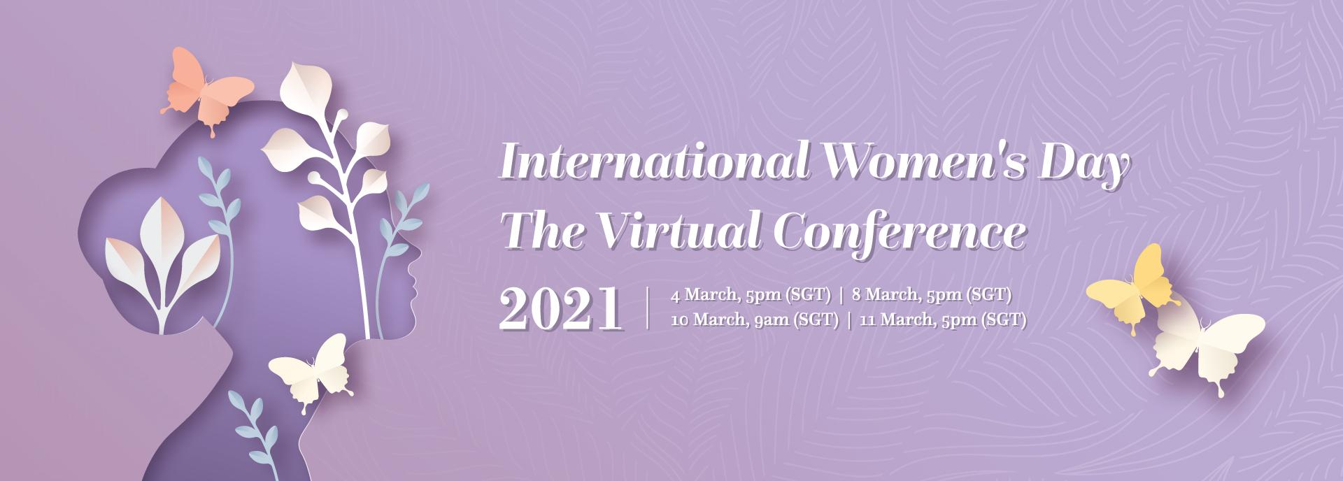 The BritCham Singapore International Women's Day 2021 Virtual Conference
