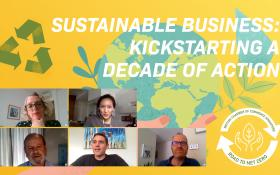 Webinar Video: Sustainable Business: Kickstarting a Decade of Action