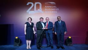 ERCE wins for 'Startup Excellence' at the 20th Anniversary Annual Business Awards