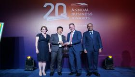 Aggreko wins for 'Success in ASEAN' at the 20th Anniversary Annual Business Awards