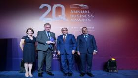 Dover Court International School wins for 'UK Impact in Singapore' at the 20th Annual Business Awards