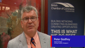 Thoughts on energy transition, Peter Godfrey, Regional Head, Energy Institute, Singapore