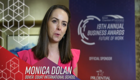 Monica Dolan wins 'Future Leaders' award at the 19th Annual Business Awards
