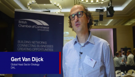 What does digital transformation in a new energies environment mean for you? Gert van Dijck, Global Head Sector Strategy, DHL