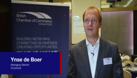 What does digital transformation in a new energies environment mean for you? Ynse de Boer, Managing Director, Accenture