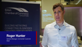 What does digital transformation in a new energies environment mean for you? Roger Hunter, General Manager, Connected Customer, Shell