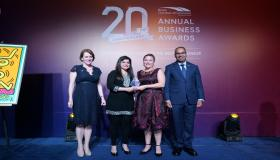 Diageo wins for 'Diversity & Inclusion at the 20th Anniversary Annual Business Awards