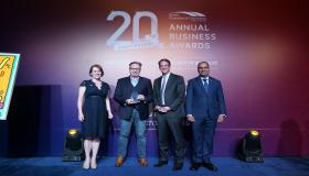 SQREEM Technologies wins for 'Digital Innovation' at the 20th Anniversary Annual Business Awards