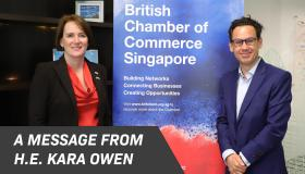 A Message from H.E. Kara Owen, British High Commissioner on COVID-19