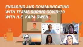 Engaging and Communicating with Teams during COVID-19