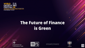 World Fintech Festival in the UK - The Future of Finance is Green